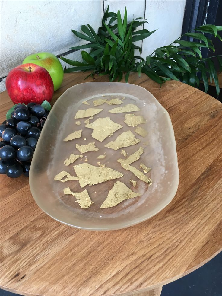 Resin platter - gold foil embedded - perfect as a cheese board  Can be found at www.jlmdesignsaus.etsy.com