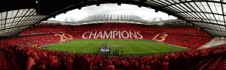 The atmosphere of Old Trafford #GGMU #MUFC