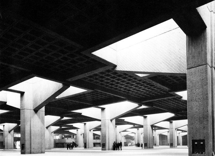 Place Bonaventure, Montreal, Quebec, Canada, 1967 (Affleck, Desbarats, Dimakopolous, Levansold, Sise)