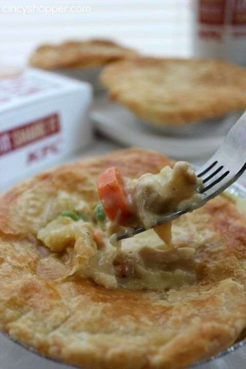 Copycat KFC Chicken Pot Pie Recipe 2
