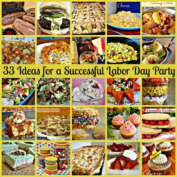 33 Ideas for a Successful Labor Day Party - Lady Behind the Curtain