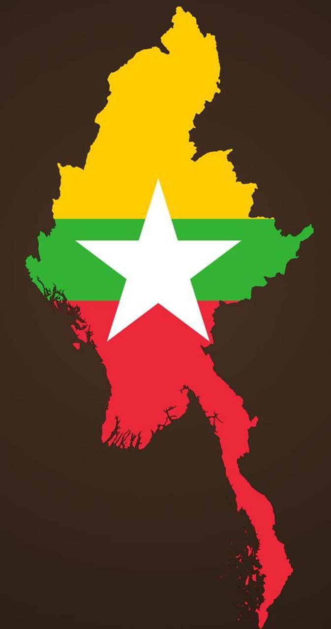 Myanmar Wallpaper Wallpaper By Putramichael 8d Free On Zedge Myanmar Flag Myanmar Art Flag