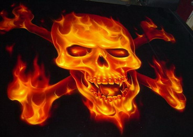 Flames Airbrush Real Flames Blue Airbrush Flames Ghost