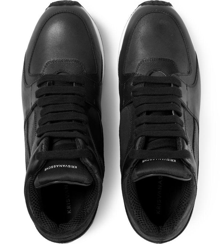 Black Hybrid Sneakers