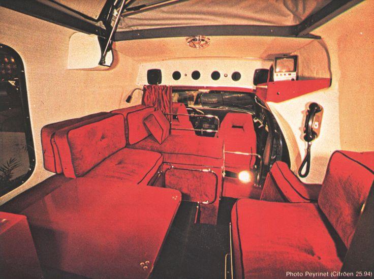 Citroën CX Penthouse interieur