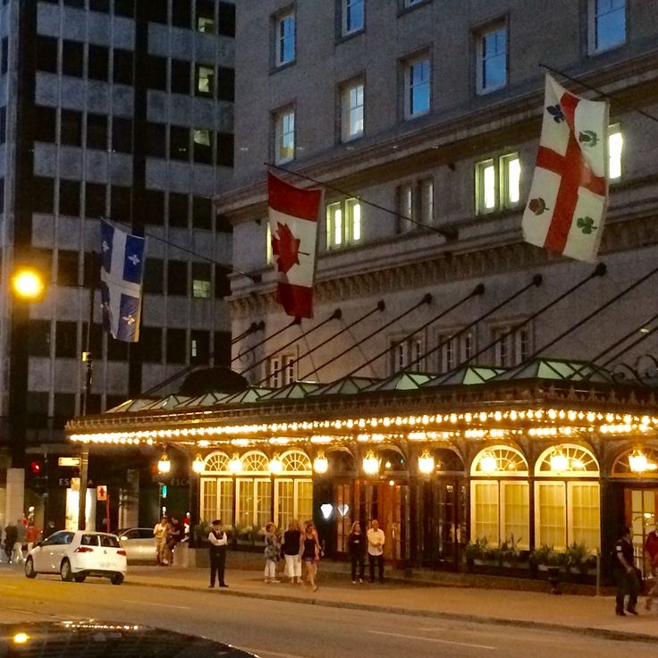Ritz-Carlton Montréal on Rue Sherbrooke. #montreal #quebec #canada #travel #hotel #ritzcarlton