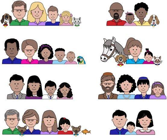 Familias diferentes
