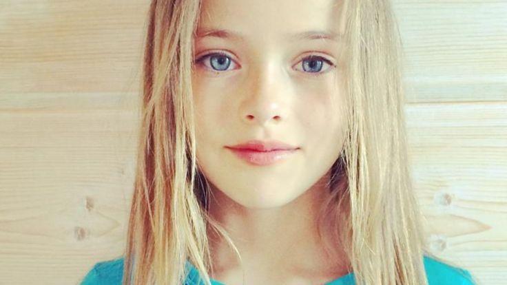VIDEOS. Kristina Pimenova, 10 ans, topmodèle russe - L'Express Styles
