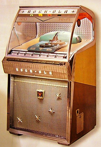 JukeBox Rock-Ola 1458 Hi-Fi