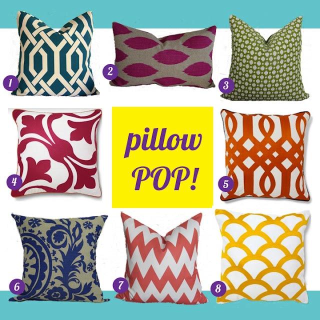 Throw Pillow Vendors : links to vendors for bright & affordable decorative pillow vendors. via the kb files. design ...