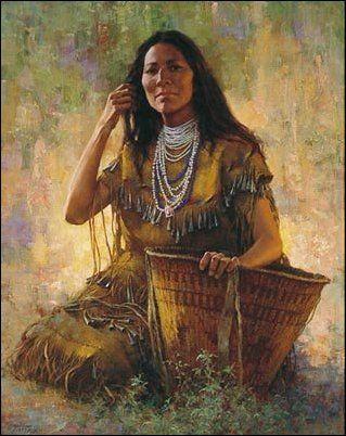 I'm Lakota and having photos of Amerindian woman makes me so happy!