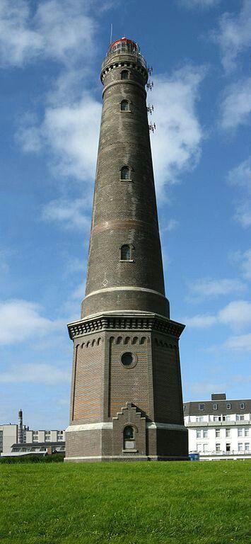 Farol de Borkum, Alemanha – um dos mais altos do mundo.