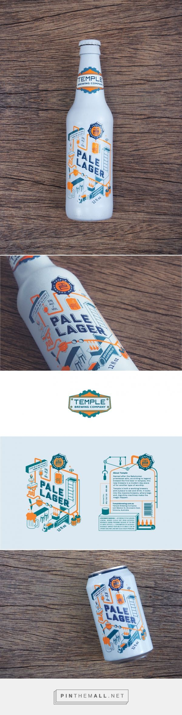 Temple Brewing Company / project / by Wanjiao Fu. SO BEAUTIFUL! I am loving the colors!