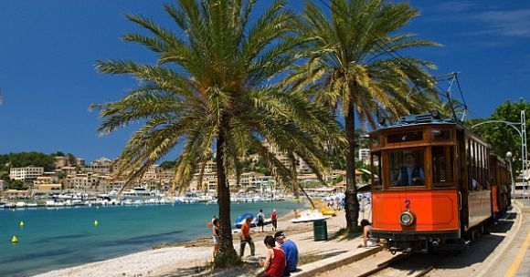 Port de Soller tram, Soller Town ~ Majorca Island