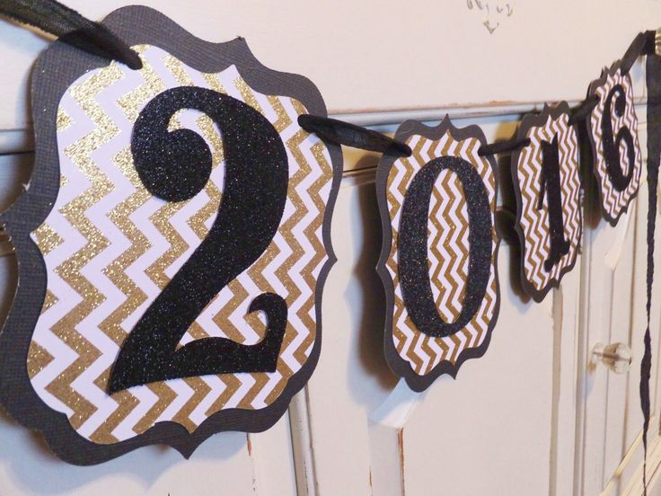 2016 Banner ~ Graduation Photo Prop ~ Party Decoration ~ Chevron Gold & White and Black by WhateversHandmades on Etsy https://www.etsy.com/listing/260276700/2016-banner-graduation-photo-prop-party