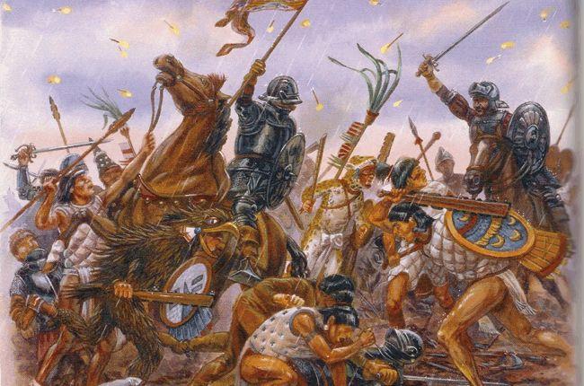 """Los Españoles nos conquistaron a los Mexicanos - Debemos de entender que los mexicanos no somos descendientes de los aztecas, sino la mezcla entre europeos y los pueblos indígenas que vencieron a los mexicas. El decir que """"conquistaron"""" funciona porque es cómodo, en lugar de subirnos al """"tren de la victoria"""" y decir, mis antepasados (los españoles y los pueblos indígenas sometidos por los aztecas que posteriormente se mezclaron en cuerpo y alma con todo lo que venía de Europa) vencieron al…"""