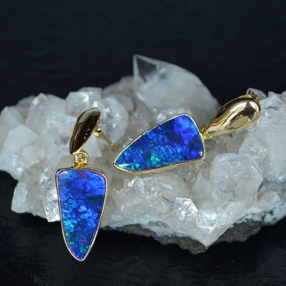 Brinco Opala Azul do Piaui