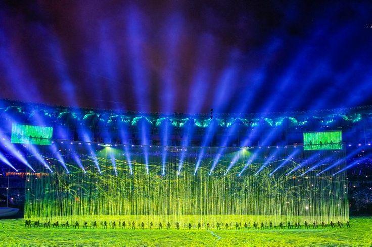 Cerimônia de Abertura dos Jogos Olímpicos Rio 2016 - 16