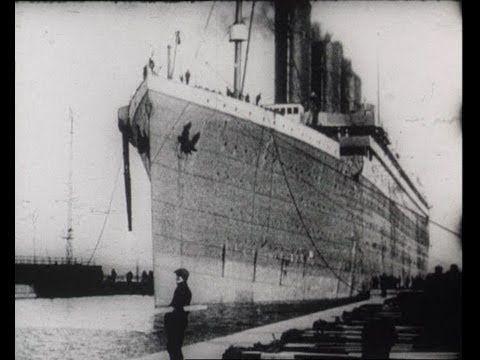 Titanic Footage & Survivors Interviews