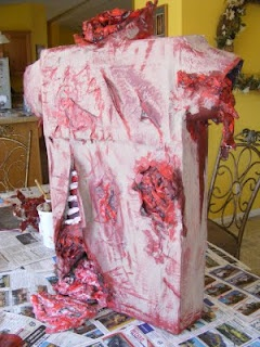Everyday mom ideas make your own halloween body parts for Make your own halloween decorations