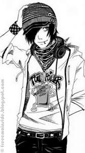 Image result for emo anime