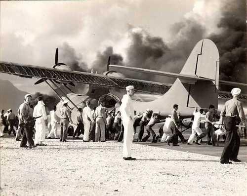 Pearl Harbor, Hawaii on December 7, 1941