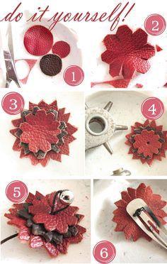 Haarspange DIY
