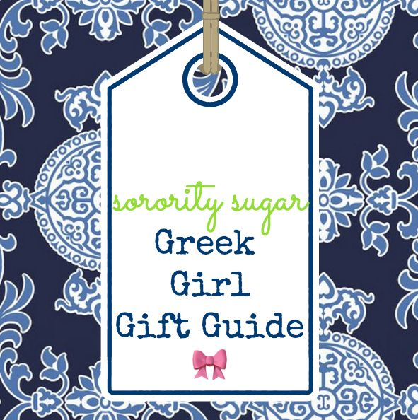 Greek Girl Gift Guide — sorority sugar