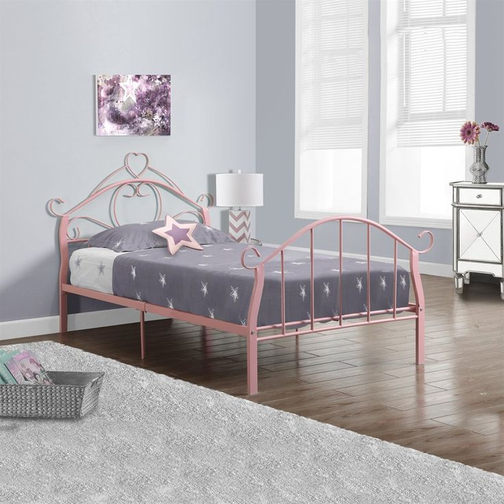 shop monarch specialties i metal twin bed frame at loweu0027s canada find our selection