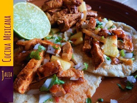 Carne para Tacos al Pastor - RECETA - YouTube
