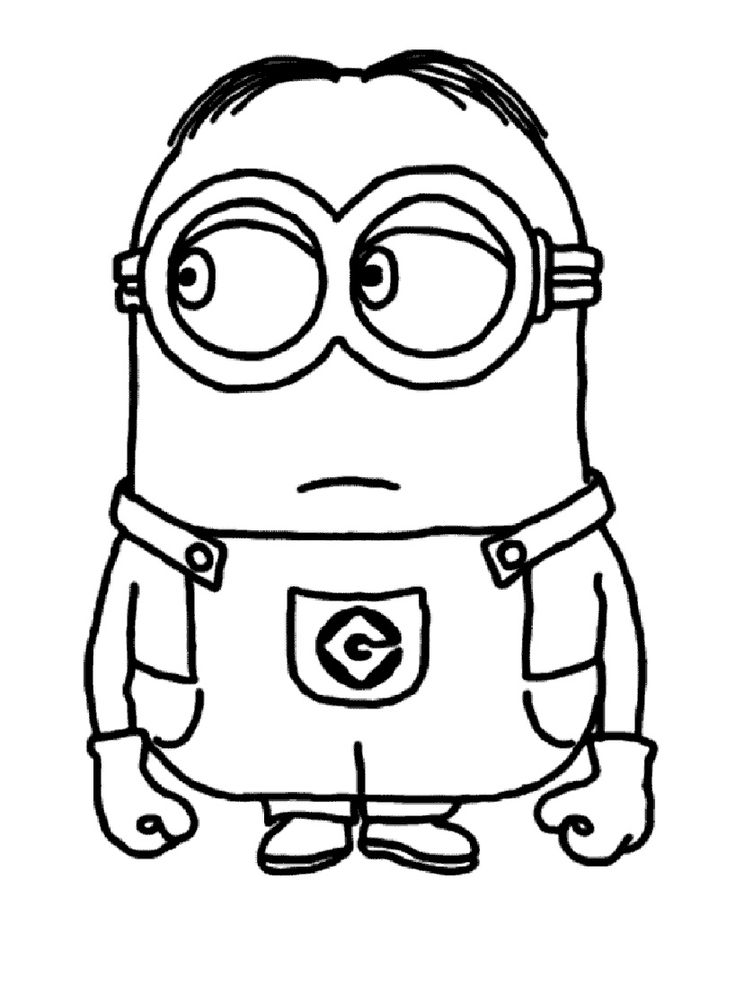 Comment Dessiner Un Minion : comment, dessiner, minion, Minion, Dessin, Facile, 1stepclinic, Cute766