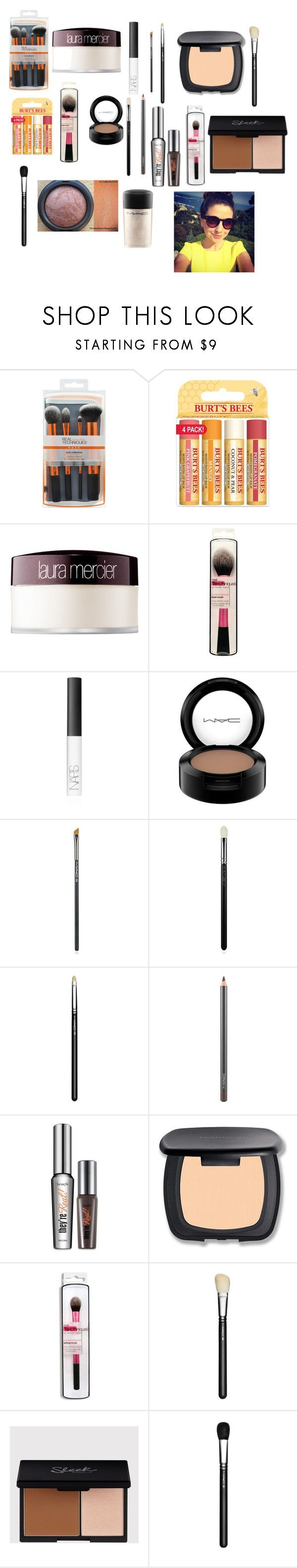 """Zoella - My Everyday Makeup Routine! #2"" by zoellaispretty on Polyvore featuring beauty, Burt's Bees, Laura Mercier, NARS Cosmetics, MAC Cosmetics, Benefit and Bare Escentuals"