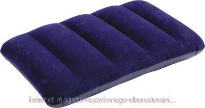 Подушка Intex арт.68672 син. флок 43х28х9см - Торгово-производственная компания SPEKTR SPORT в Димитровграде