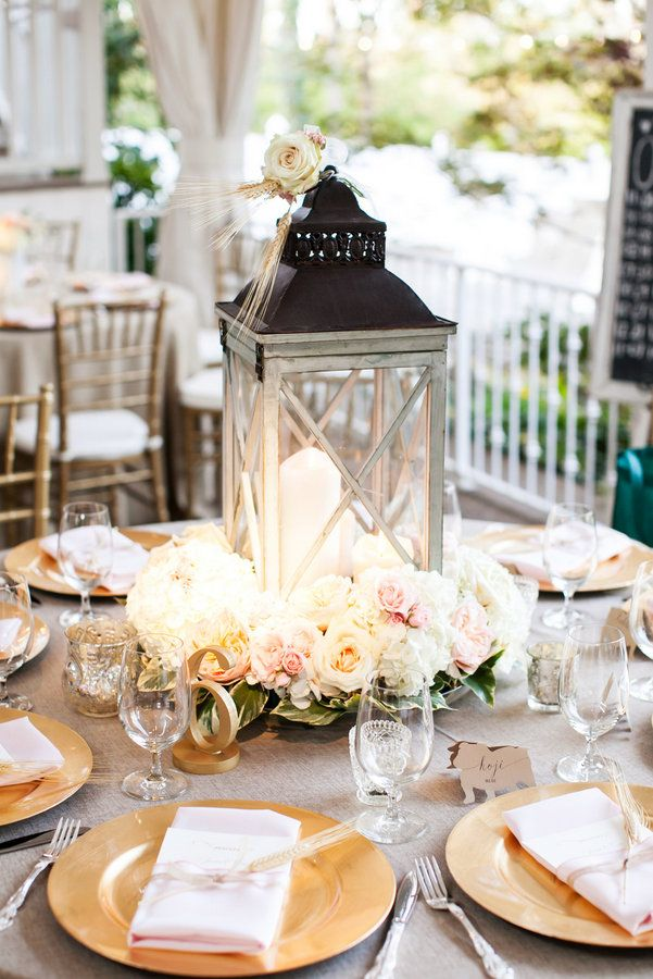 Southern Fall Garden Wedding | Flowers by Enchanted Florist, Venue: CJ's Off the Square, Rentals by Southern Events, Photo by Jen & Chris Creed