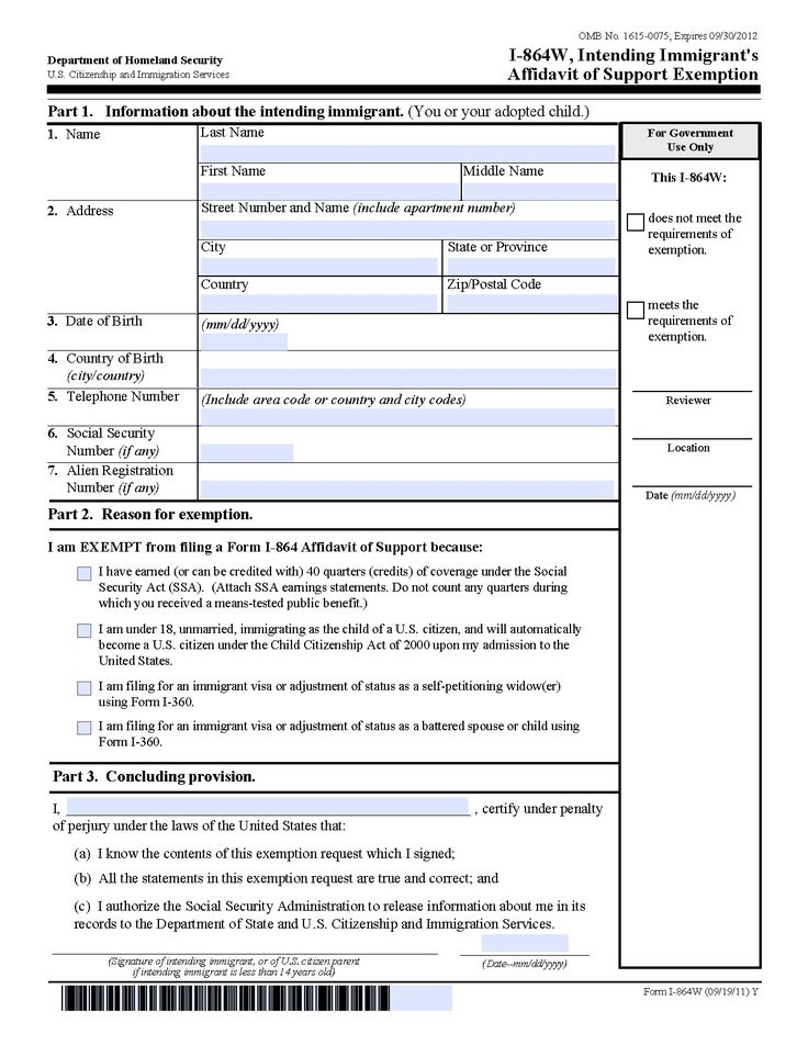 Download form I 864 Download I 864a Perfect in 2020