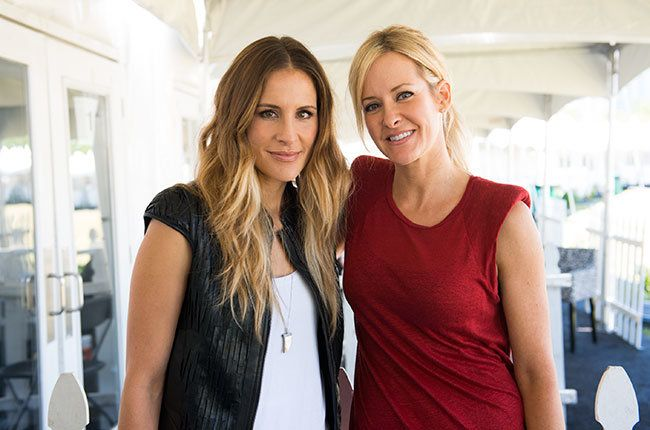 Emily Robison and Martie Maguire of  Dixie Chicks and Court Yard Hounds