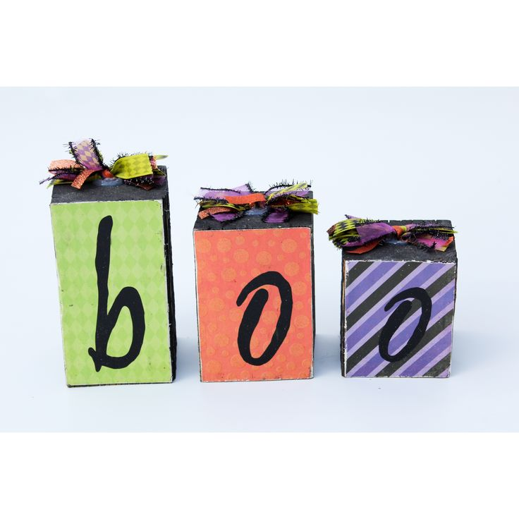 This handcrafted and handmade blocks are perfect to add to a room for the halloween season. Crafted with wood, this decorative piece is a perfect way to personalize your home. This product is part of