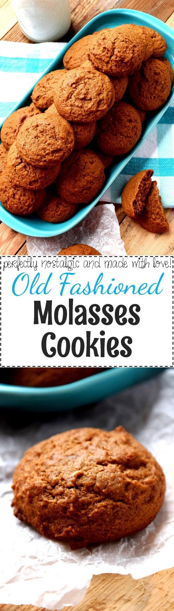Old Fashioned Molasses Cookies - Lord Byron's Kitchen