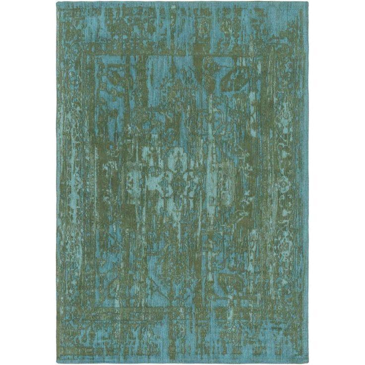 Elegant Awet 3069 Green Teal Contemporary Rug