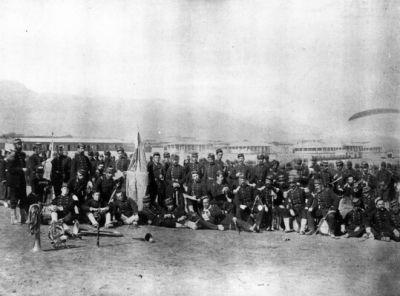 Regimiento 2° de Línea en Antofagasta, año 1879