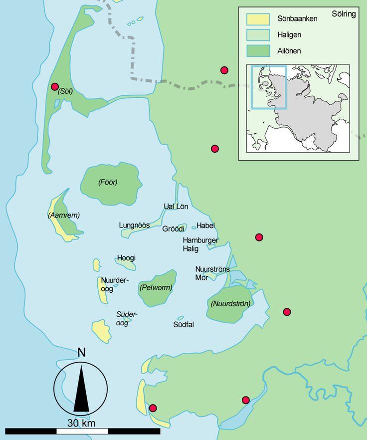 Di Haligen / Hålie (Schleswig-Holstein, Kreis Nordfriesland) -
