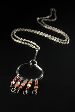 Silver pendant by Anna Greta Eker