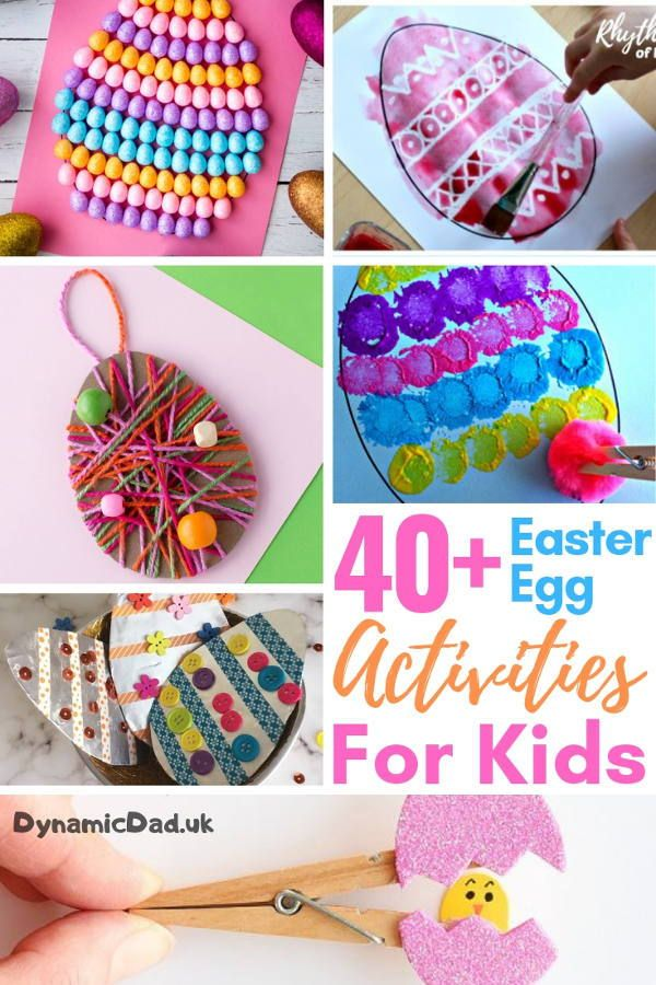16/03/2017· ideal for crafting at home, or for preschool activities. 40 Eggciting Easter Egg Crafts For Kids Dynamic Dad Crafts For Kids Egg Crafts Easter Egg Crafts