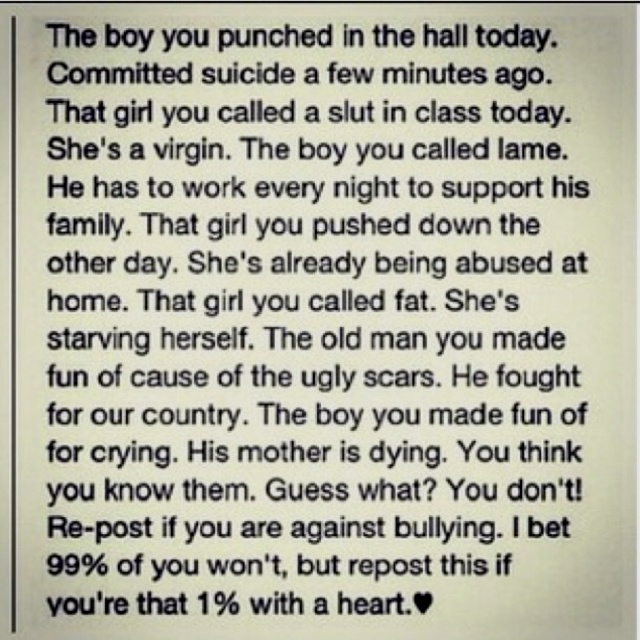 Wow!Life, Judges, Make A Difference, True, Truths, Anti Bullying, Bullying Quotes, Stop Bullying, People