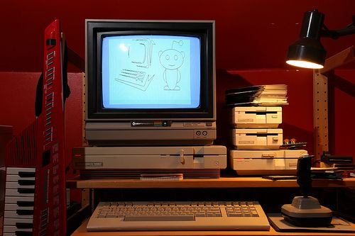 sweet Commodore 128D rig