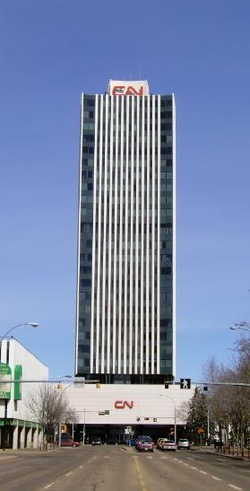 CN Building, Edmonton, Canada