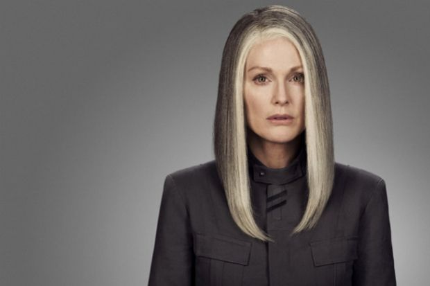 Julianne Moore Goes Gray for The Hunger Games