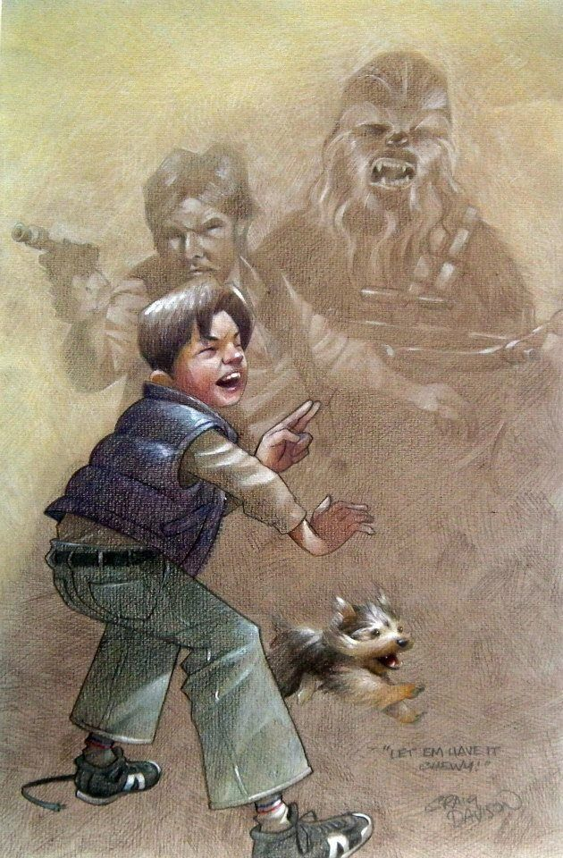 Star Wars - Let 'em Have it Chewy by Craig Davison