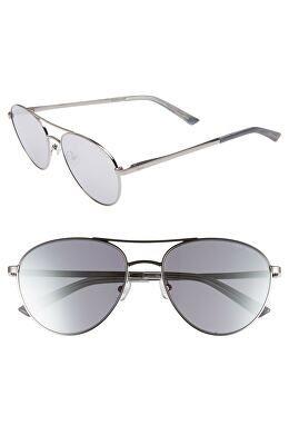 407fd38991b8c TED BAKER LONDON Designer 55mm Aviator Sunglasses