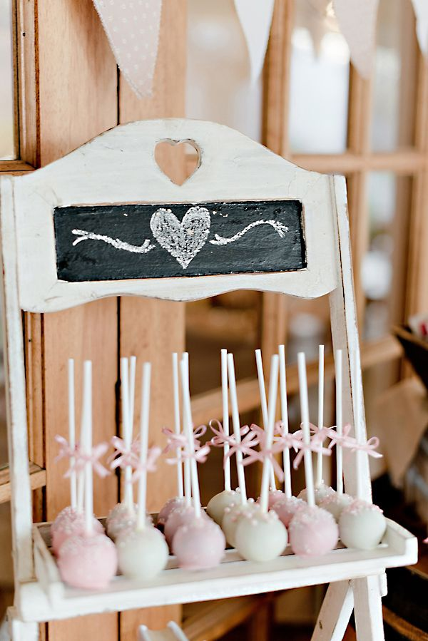 dessert table ideas http://www.weddingchicks.com/2013/09/30/vintage-pink-and-white-wedding/